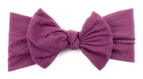 View larger image of Headband Bow-Midnight Mauve
