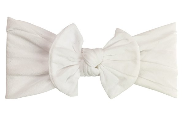 View larger image of Headband Bow-White