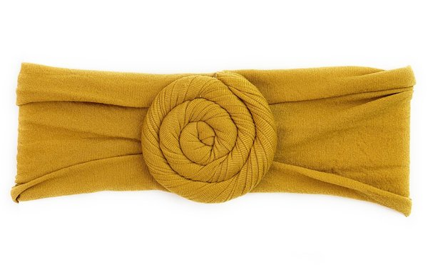 View larger image of Headband Turban-Mustard