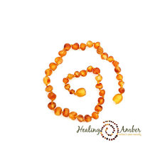 11 inch Raw Amber Necklace