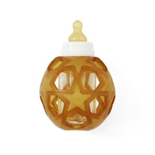 View larger image of 2-in-1 Baby Glass Bottle - Star Ball