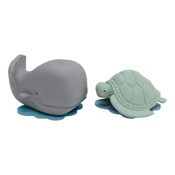 View larger image of Bath Toy - Grey Whale/Turtle