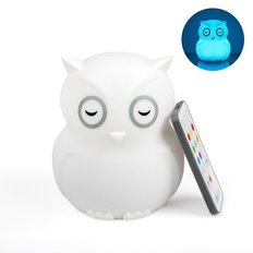 Hibü Owl Silicone Portable Night Light
