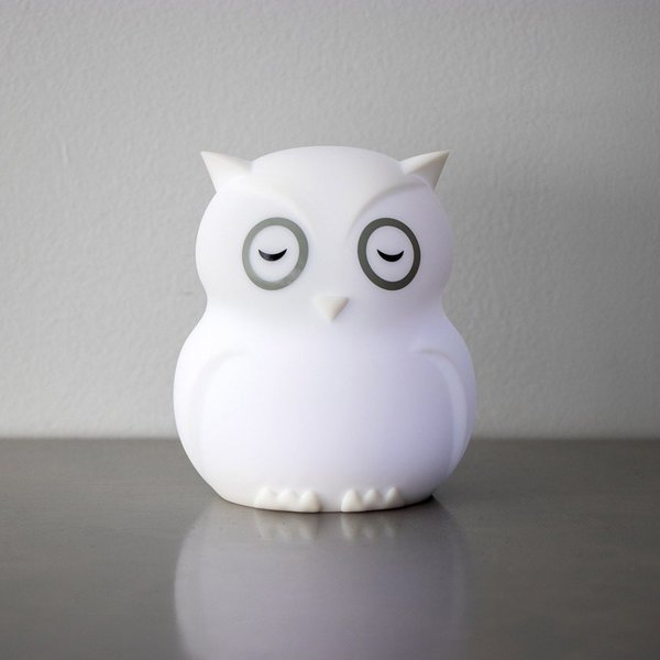 View larger image of Hibü Owl Silicone Portable Night Light