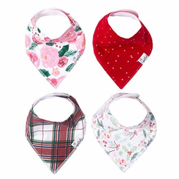 View larger image of Bandana Bib Set - Holly