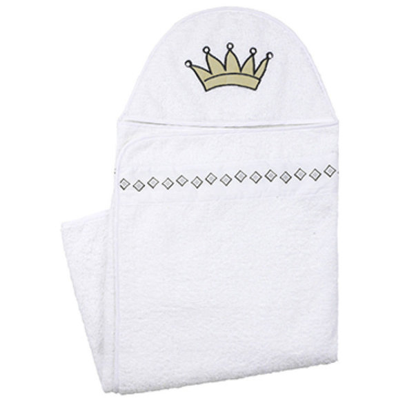 View larger image of Hooded Towel - White