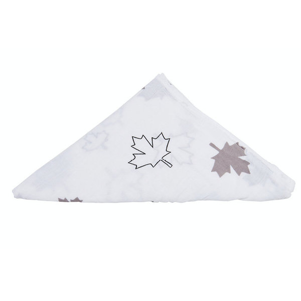 View larger image of Muslin Swaddle - Maple Leaf