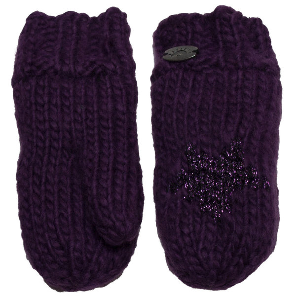View larger image of Iceland Star Mitt-Purple-S