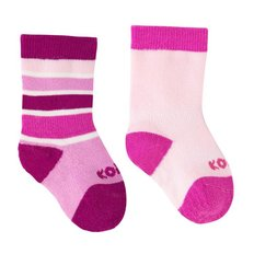 Infant Socks - 2pk - Pink