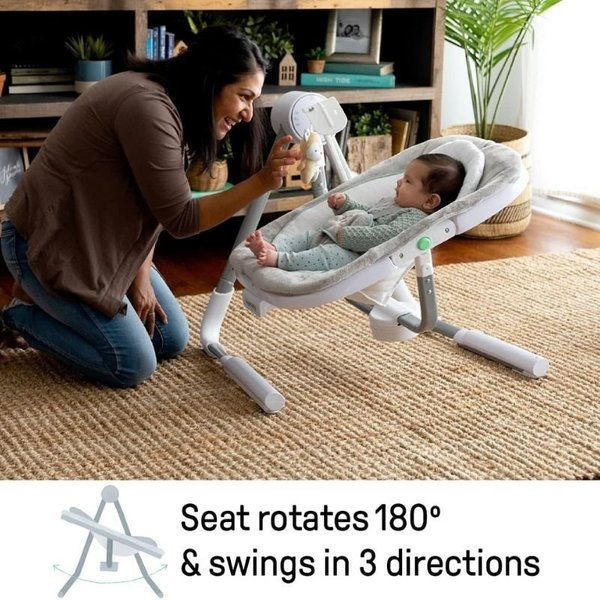 View larger image of Anyway Sway Power Adapt Dual-Direction Portable Swing – Ray