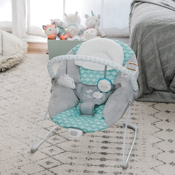 View larger image of Bouncity Bounce Vibrating Deluxe Bouncer - Goji
