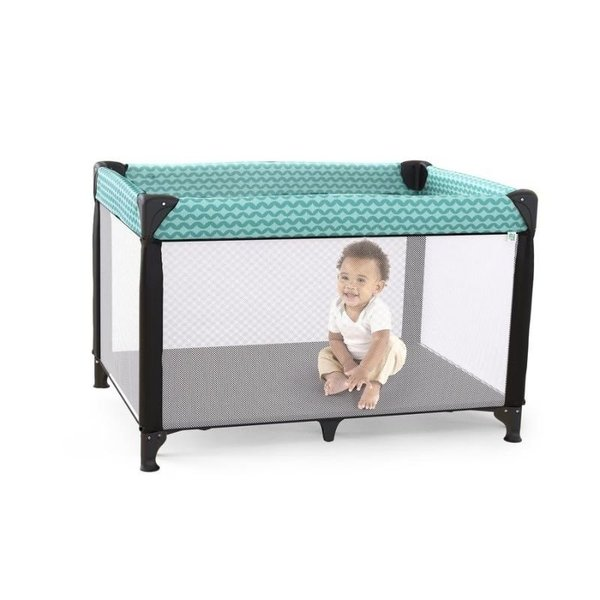 View larger image of Rompity Rest Easy Fold Portable Playard – Goji