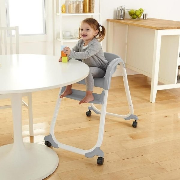 View larger image of Smart Clean Trio High Chair - Slate