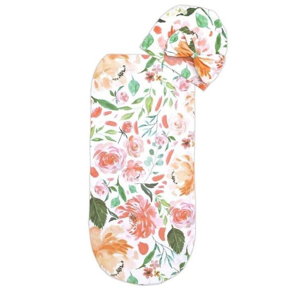 View larger image of Cutie Cocoon Swaddle and Hat