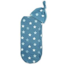 Cutie Cocoon Swaddle and Hat