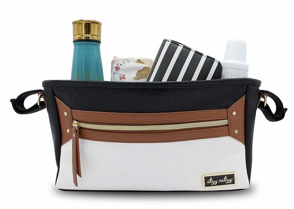 View larger image of Stroller Caddy - Coffee & Cream