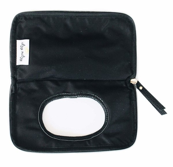 View larger image of Travel Wipes Case - Coffee & Cream