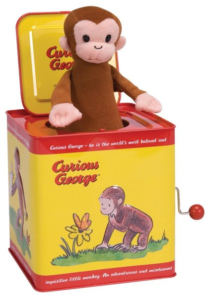 View larger image of Jack in the Box - Curious George