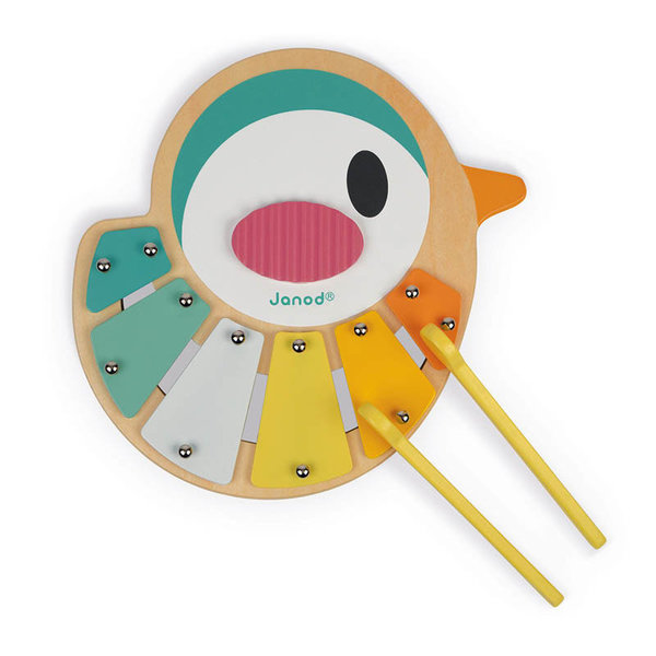 View larger image of Bird Shaped Wooden Xylophone