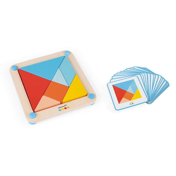 View larger image of Essentiel - Wooden Tangram Game