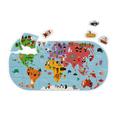 Explorers Map Bath Toy