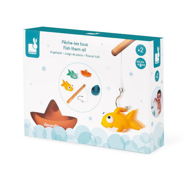 View larger image of Fish Them All! Bath Toy
