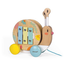Pull-Along Snail Toy