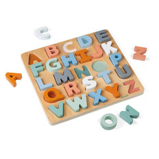 Sweet Cocoon Alphabet Learning Puzzle