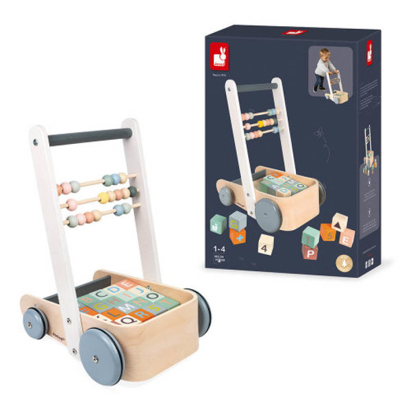 View larger image of Sweet Cocoon Cart with ABC Blocks