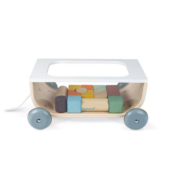 View larger image of Sweet Cocoon Cart with Blocks