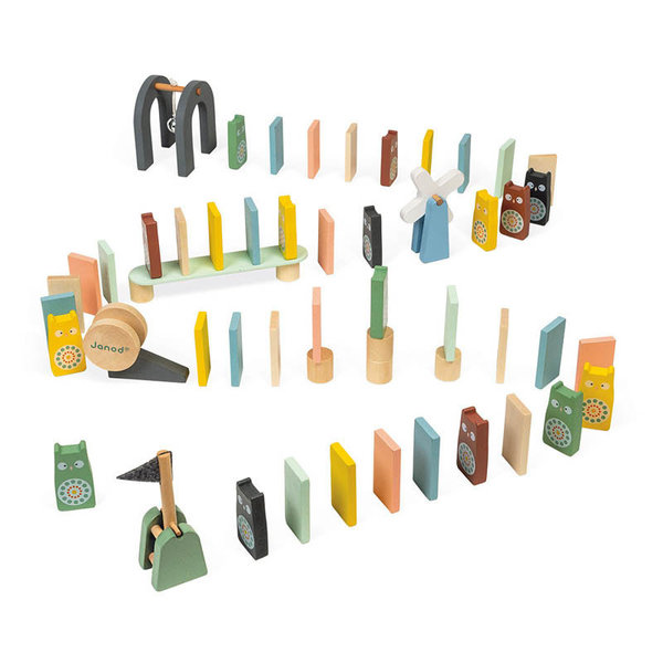 View larger image of Sweet Cocoon Wooden Dominoes Set