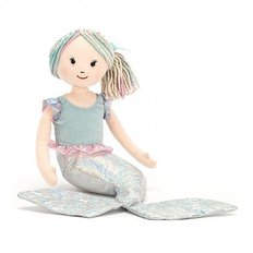 Aqua Lily Mermaid Plush