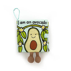 I Am An Avocado Fabric Book