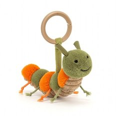 Little Christopher Caterpillar Toy Rattle