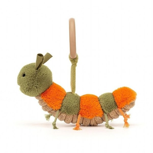View larger image of Little Christopher Caterpillar Toy Rattle