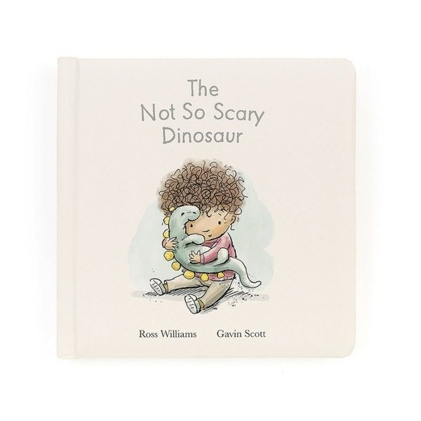 View larger image of Not So Scary Dinosaur - Book