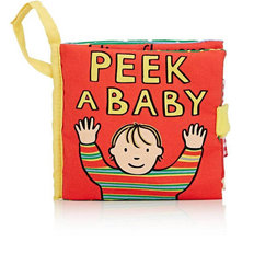 Peek-a-Baby Soft Activity Book