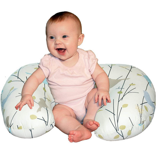 View larger image of Deluxe Baby Sitter Pillow + Quilted Play/Change Mat