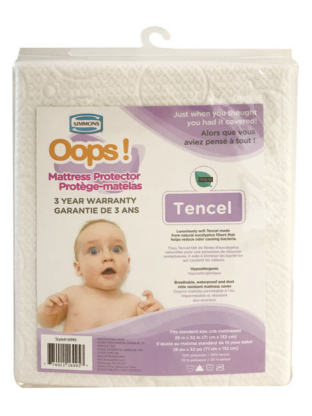 View larger image of Oops Mattress Protector - Tencel