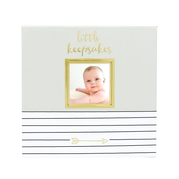 View larger image of Baby Memories Keepsake Box - Grey