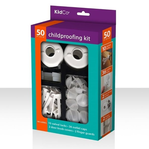 View larger image of Childproofing Kit - 50 Pieces
