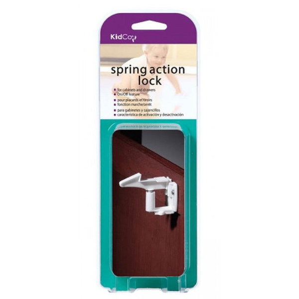 View larger image of Spring Action Lock - 4 Pack