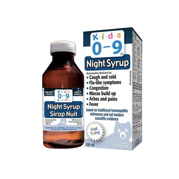 View larger image of Kids 0-9 Night Syrup - 100mL