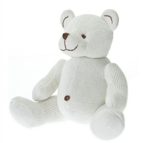 View larger image of Large Knit Bear - Ivory