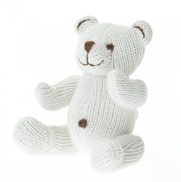View larger image of Knit Bear Rattle