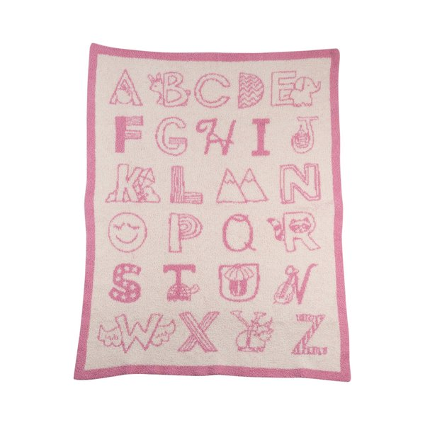View larger image of Knit Blankets - Alphabet