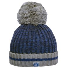 Knit Combo Hat - Blue - Small