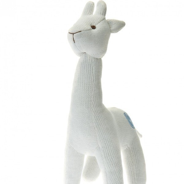 View larger image of Knit Giraffe Large - Ivory