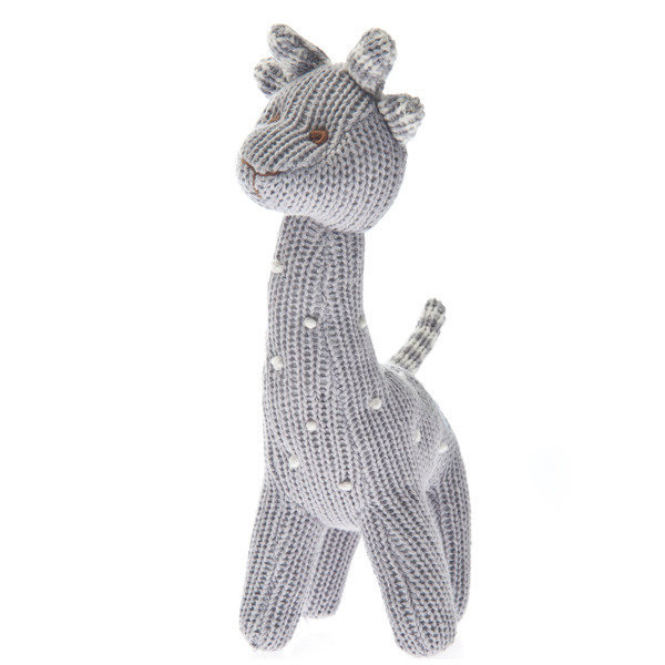View larger image of Knit Giraffe Rattle