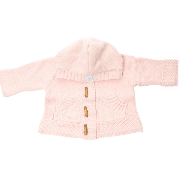 View larger image of Knit Hoodie Pink
